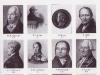 """Abb. 3 Gründungsmitglieder der Berliner """"Gesellschaft für Natur und Heilkunde"""" (Unten links Nr. 6 C. L. Willdenow)"""