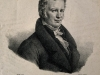 Demanne nach Karl von Steuben, Lithografie, 33,5 x 26 cm, Sign.: H. Grevedon, Inschrift: Steuben pinx. Lith de Demanne Alexandre de Humboldt, 1824.