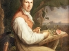 Friedrich Georg Weitsch (1758-1828), Alexander von Humboldt, l auf Leinwand, 127 x 94 cm, 1806. 