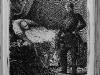 Der Prinz Regent von Preußen am Sterbelager Alexander von Humboldts, aus: Die Gartenlaube, 1859.