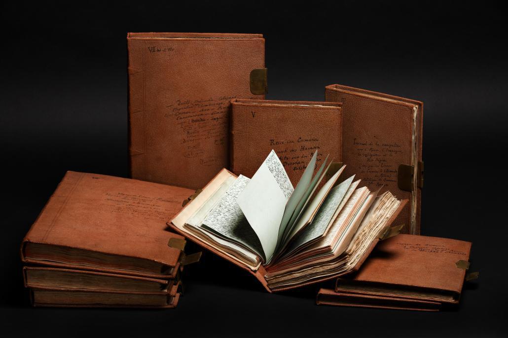 Alexander von Humboldt Amerikanische Reisetagebücher, Foto: Carola Seifert, SBB-PK