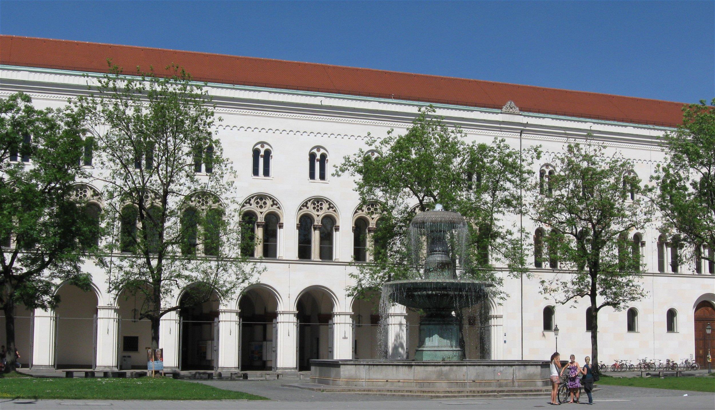 Fassade der LMU