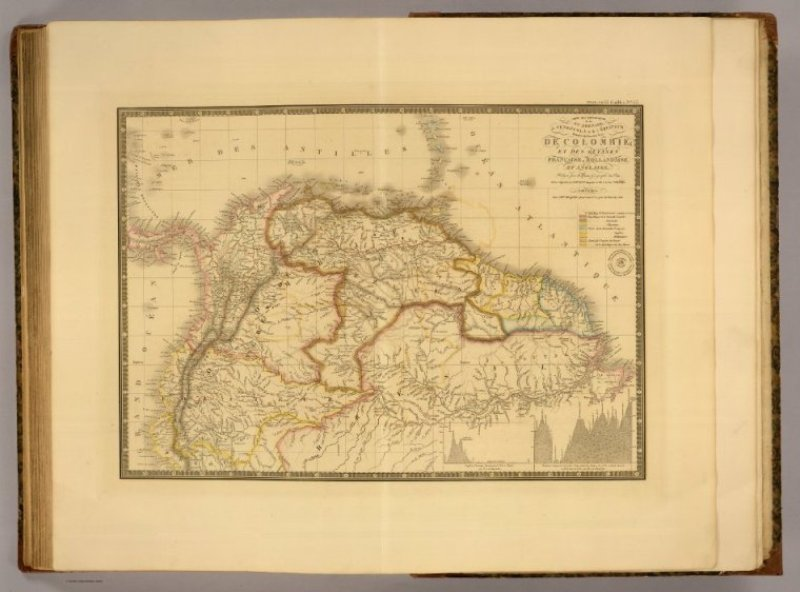 Nle. Grenade, Venezuela, Equateur, Guyanes Francaise, Hollandaise et Anglaise