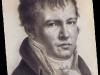 Abb. 22a: A. v. Humboldt (Selbstbildnis, Paris 1814)