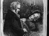 Herbert König, Humboldts letzter Besuch bei Rauch, aus: Die Gartenlaube, 1858.