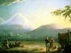 Friedrich Georg Weitsch (1758-1828), Humboldt und Bonpland am Chimborazo, Öl auf Leinwand, 162 x 226 cm, 1810.