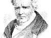 Alexander von Humboldt, Lithografie.